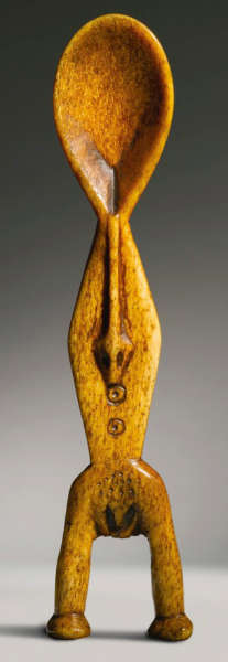 LEGA BONE FIGURAL SPOON