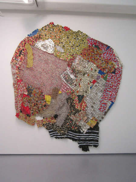 El Anatsui - Pot of Wisdom exhibition, Jack Shainman Gallery, January 2013 (own photo)