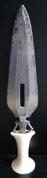 Mangbetu knife Bruno Claessens 1