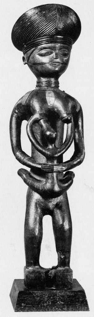 "Collection Museu do Dundo (G 289; 1939). Published in: Bastin (Marie-Louise), ""La Sculpture Tshokwe"", Meudon: Alain et Francoise Chaffin, 1982:171, #104."