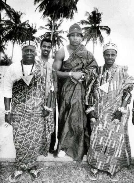 LL Cool J in Abidjan circa 1986.