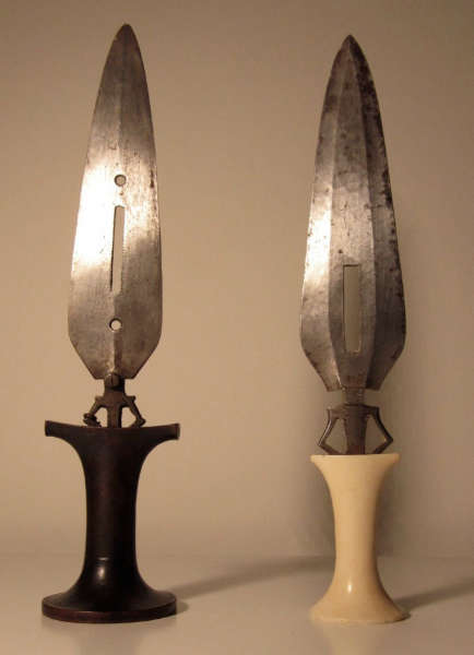 Image: BC. Left dagger courtesy of the Grace collection.