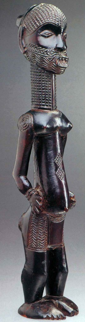 Luluwa figure. Ex collection Robert Reisdorff, Brussels, before 1920. Height: 45 cm.