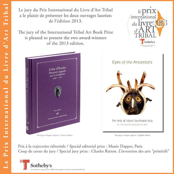 International Tribal Art Book Prize 2013
