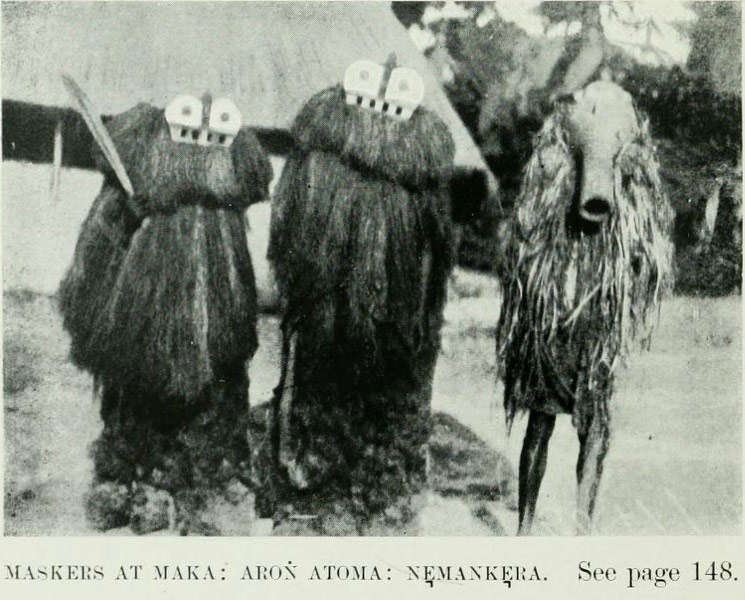 Ttaken from 'Anthropological Report on Sierra Leone' by Northcote W. Thomas, London, 1916, pl.V.
