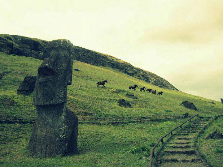 Easter Island by Ester