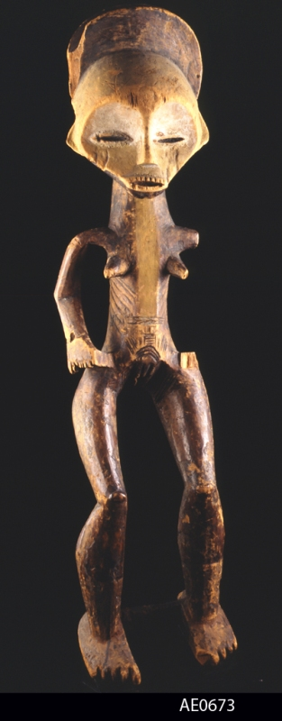 Mbole figure. Height:  cm. Image courtesy of the MAS (# AE.0673).