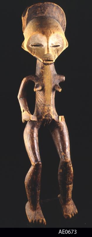 Mbole figure. Height:  cm. Image courtesy of the MAS (# AE.0673).