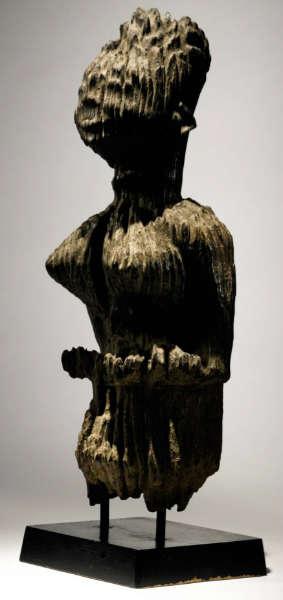 Kongo-Vili figure. Height: 53,3 cm. Estimate: $25,000 - 35,000 USD. Image courtesy of Sotheby's.