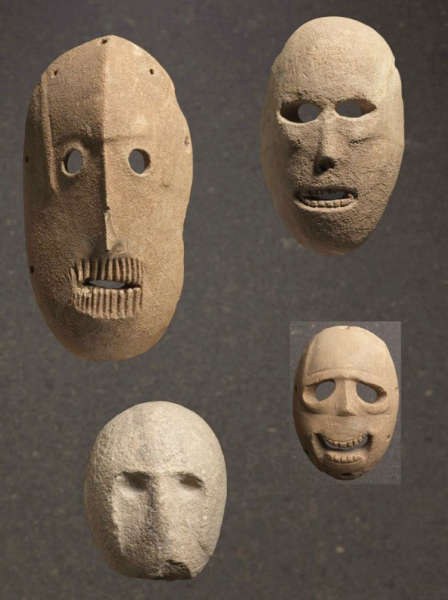 found in the Judean Desert and Hills Face to Face: The Oldest Masks in the World at the Israel Museum
