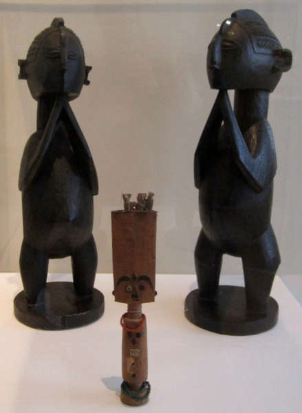 Baga figures pre 1909 Boulogne sur mer museum