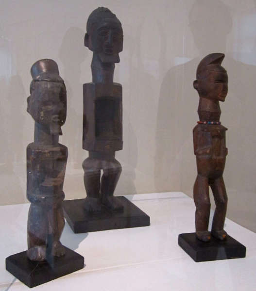 Teke figures pre 1901 Boulogne sur Mer Museum
