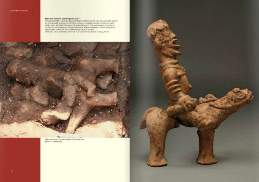 a Komaland figure uncovered Manchester Museum