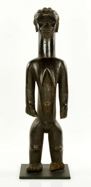 Bassa figure Liberia auction suprise