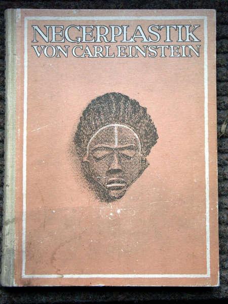 Carl Einstein, Negerplastik 1915 front cover