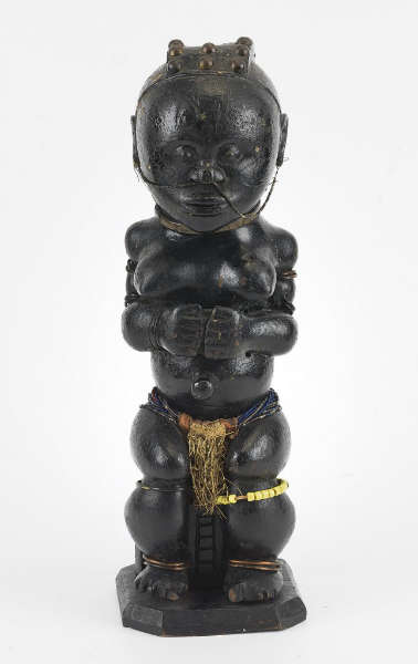 Fang-Okak figure. Image courtesy of the Museu de Cultures del Mon (#71-5).