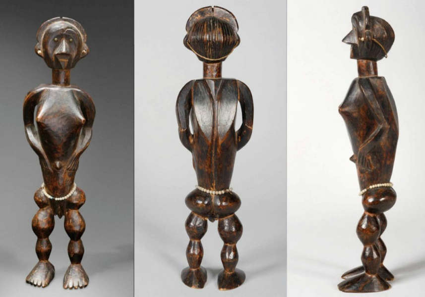 Boa figure. Height: ca. 50 cm.