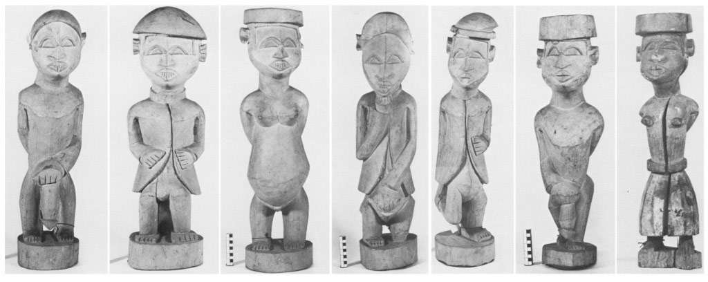 Early Kongo Tourist Art Bassani