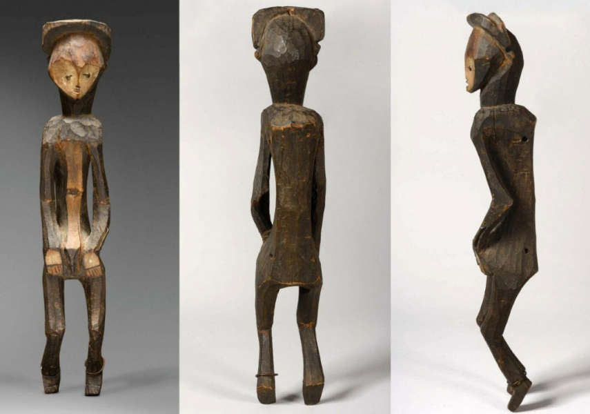 Mbole figure. Height: ca. 70 cm.