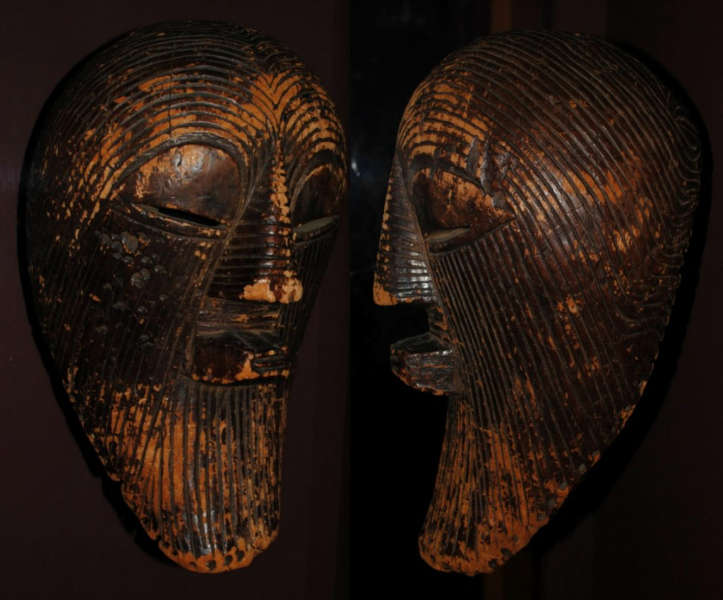 Vandevelde Songye kifwebe mask 19th century 1024x850 Object of the day: a 19th century Songye kifwebe mask
