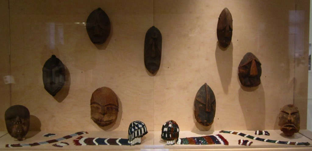 Alutiiq masks from the Kodiak archipelago at the Boulogne-sur-Mer Museum 2