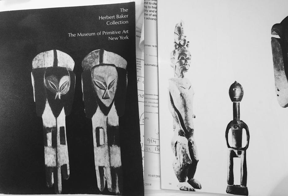 Herbert Baker Baule figure