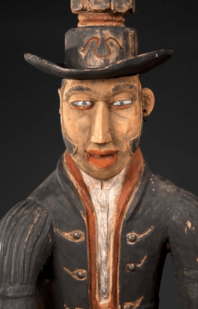 Vili drum Julio Peabody Essex Museum Salem head