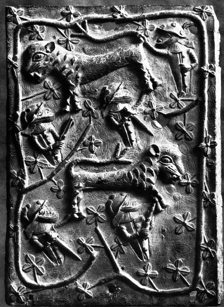 Object of the day: a Benin plaque by the Master of the Leopard Hunt