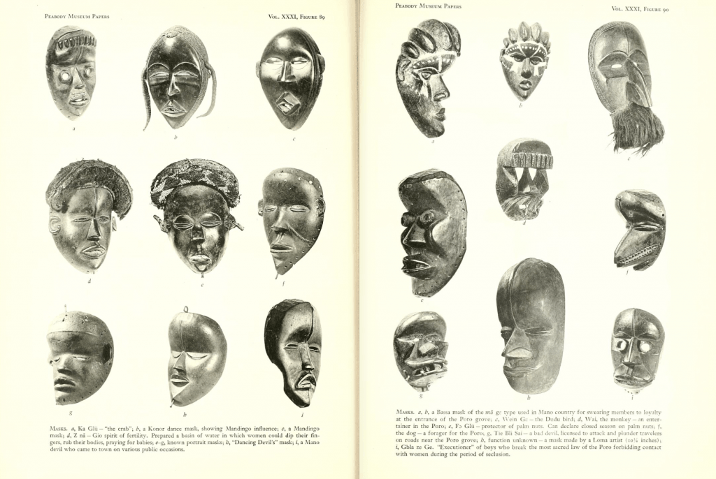 Tribes of the Liberian Hinterland (1947) Harley Schwab
