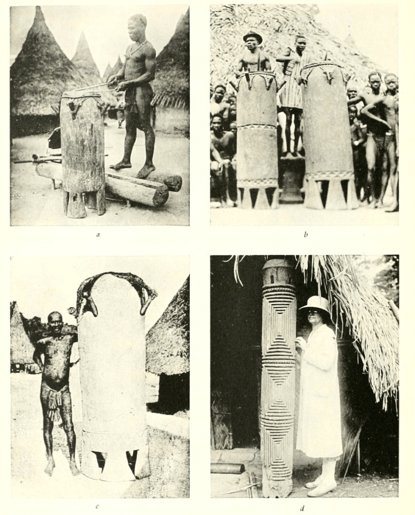 Tribes of the Liberian Hinterland Dan drums Schwab Harley Peabody