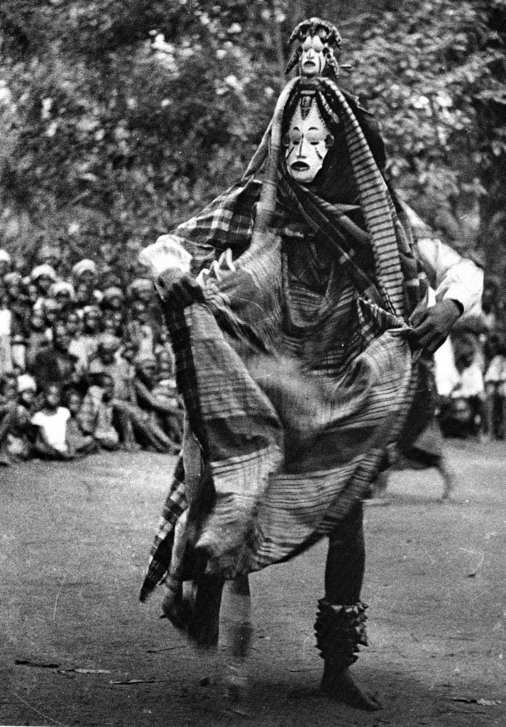 Field photo of the day: an okoroshi masquerade among the Usuama Igbo