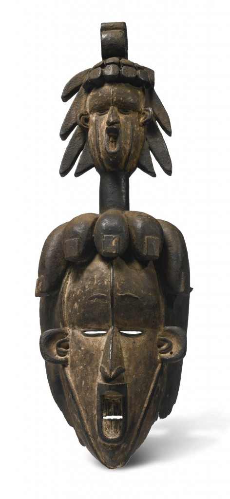 Igbo mask. Height: 49,3 cm. Image courtesy of Sotheby's.