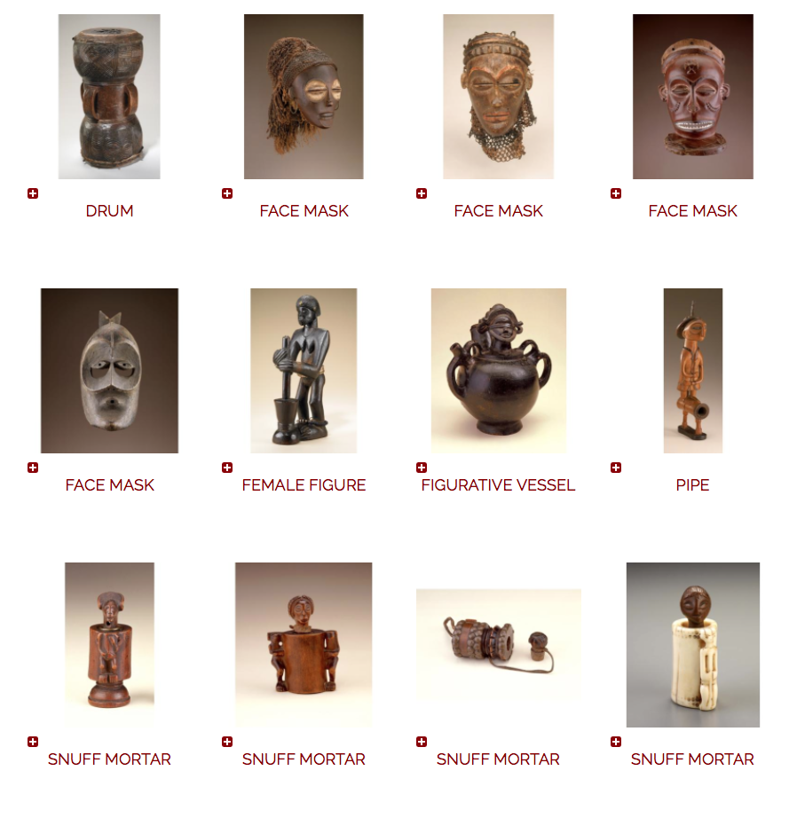African art Smithsonian database