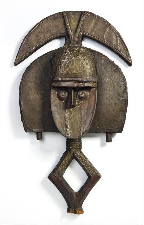 Kota figure (Gabon). Height:  cm. Ex Stieglitz and featured on the above photo. Image courtesy of Fisk University and Crystal Bridges.