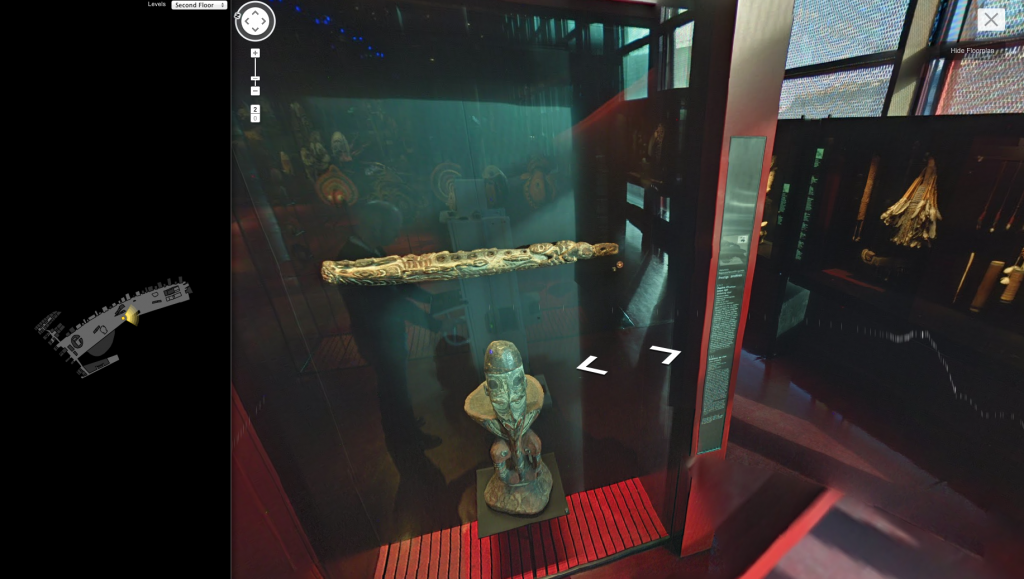 google streetview quai branly museum oceanic art
